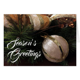 Season's Greetings, card