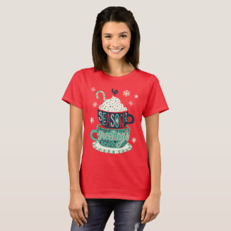 Seasons greetings Christmas holiday festive T-Shirt
