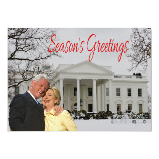 Season's Greetings from Bill & Hill Card