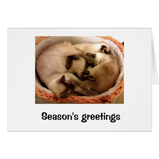Season's greetings from Hiro, Neo & trinity Card