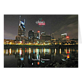 Season's Greetings from Nashville, Tennessee Card