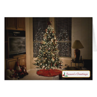 """Season's Greetings"" Greeting Card w/Envelope"