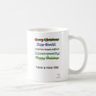 Seasons' Greetings Mug