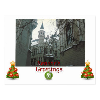 Season's Greetings Postcard