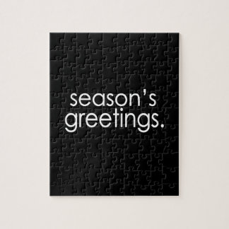 Season's Greetings Puzzle
