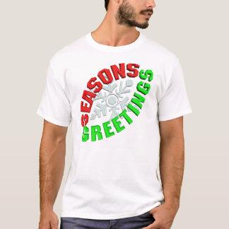 Seasons Greetings - Snowflake T-Shirt