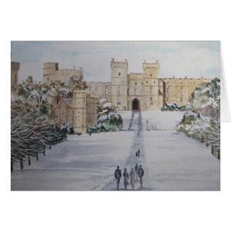 Season's Greetings Windsor Castle Card
