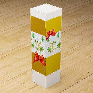 Seasons, Mustard,White Green Wine Box