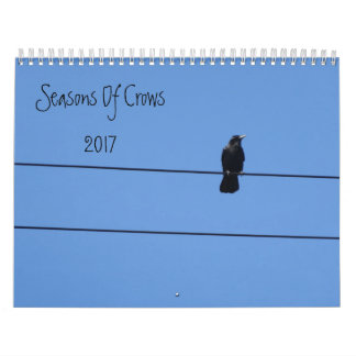 Seasons Of Crows Wall Calendar