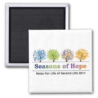 Seasons of Hope 2011 Magnet