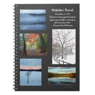 Seasons of Walden Pond Notebooks