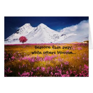 Seasons Scenic Friendship Greeting Card