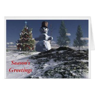 Season'sGreetings Greeting Card