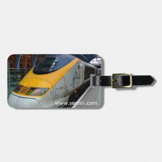 Seat61 Eurostar luggage labels. Luggage Tag