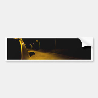 Seat Ibiza on the lonely road Bumper Sticker