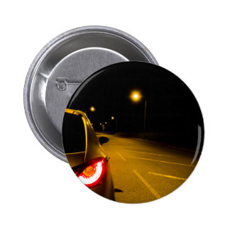 Seat Ibiza on the lonely road Pinback Buttons