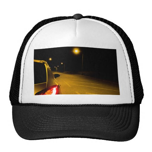 Seat Ibiza on the lonely road Hats