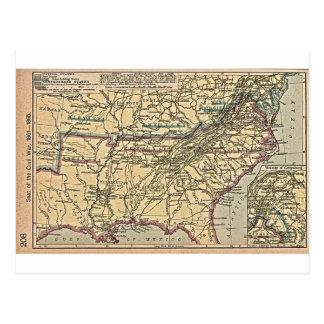 Seat of Civil War, 1861- 1865 Postcard