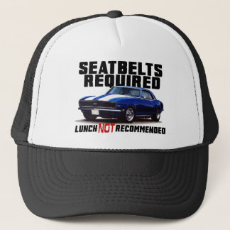 Seatbelts Required for camaro Trucker Hat