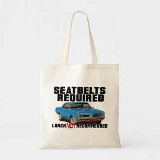 Seatbelts Required for GTO Tote Bag