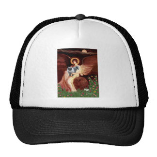 Seated Angel - Blue Smoke Persian cat Trucker Hat