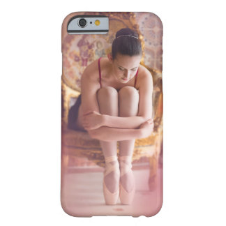 Seated ballerina in ornate gold chair Brussels Barely There iPhone 6 Case