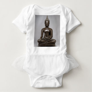 Seated Buddha - 15th century Baby Bodysuit