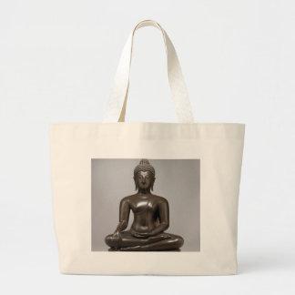 Seated Buddha - 15th century Large Tote Bag