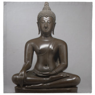 Seated Buddha - 15th century Napkin
