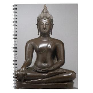 Seated Buddha - 15th century Notebook
