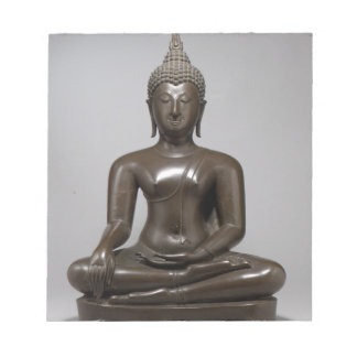 Seated Buddha - 15th century Notepad