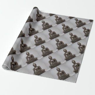 Seated Buddha - 15th century Wrapping Paper