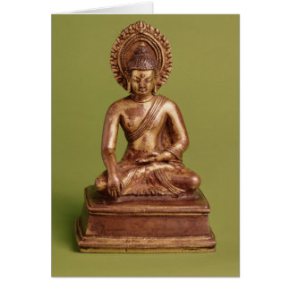 Seated Buddha Card