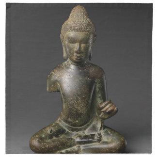 Seated Buddha - Pyu period Napkin