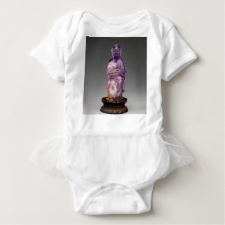 Seated Buddha - Qing dynasty (1644–1911) Baby Bodysuit
