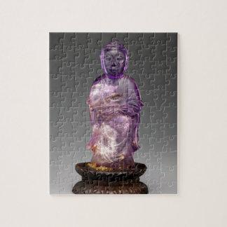 Seated Buddha - Qing dynasty (1644–1911) Jigsaw Puzzle