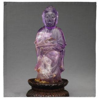 Seated Buddha - Qing dynasty (1644–1911) Napkin