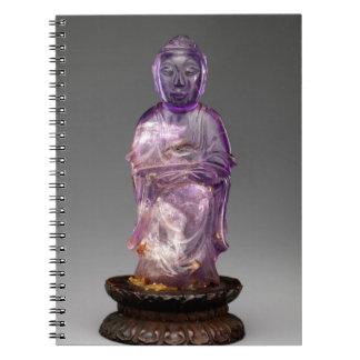 Seated Buddha - Qing dynasty (1644–1911) Notebook