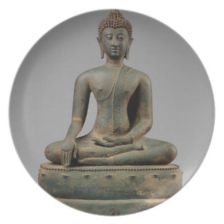 Seated Buddha - Thailand Dinner Plates