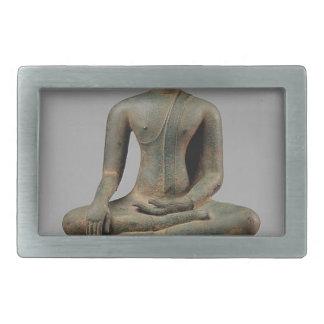 Seated Buddha - Thailand Rectangular Belt Buckle