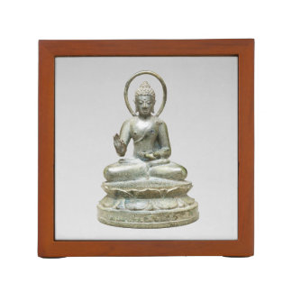 Seated Transcendent Buddha Desk Organizer