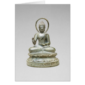 """Seated Transcendent Buddha"" Note Card"