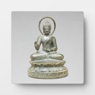 Seated Transcendent Buddha Plaque