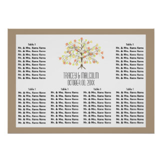 Seating fall modern tree 60 poster