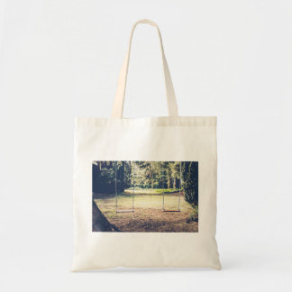 Seating Themed, Garden Swings For Dating Couples W Tote Bag