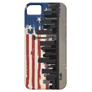 Seattle American Cities CityScape iPhone 5 Covers