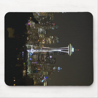 Seattle At Night Mouse Pad