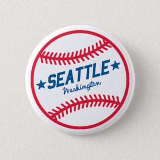 Seattle Baseball 2 Inch Round Button