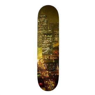 Seattle city view custom skate board