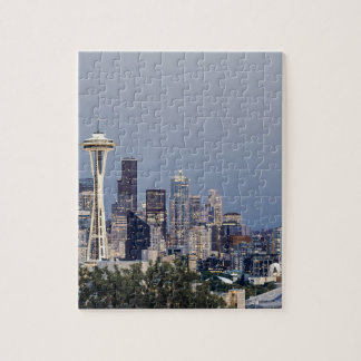 Seattle cityscape jigsaw puzzle